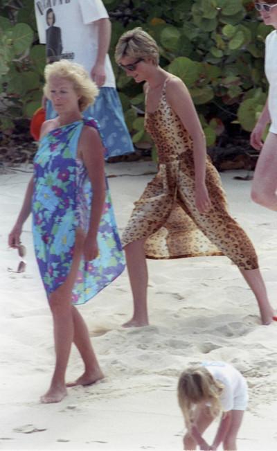 Princess Diana in casuals