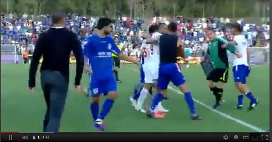 Israel Soccer violence
