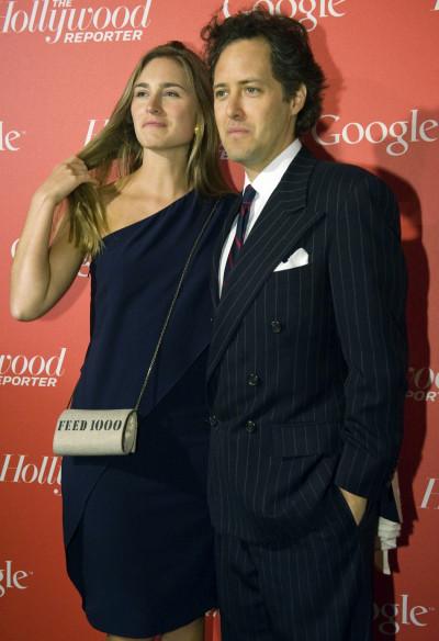 Lauren Bush and her husband David Lauren