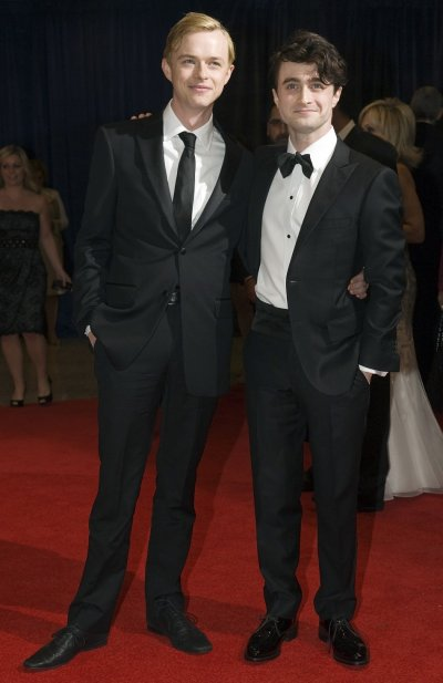 Actors Dane DeHaan and Daniel Radcliffe