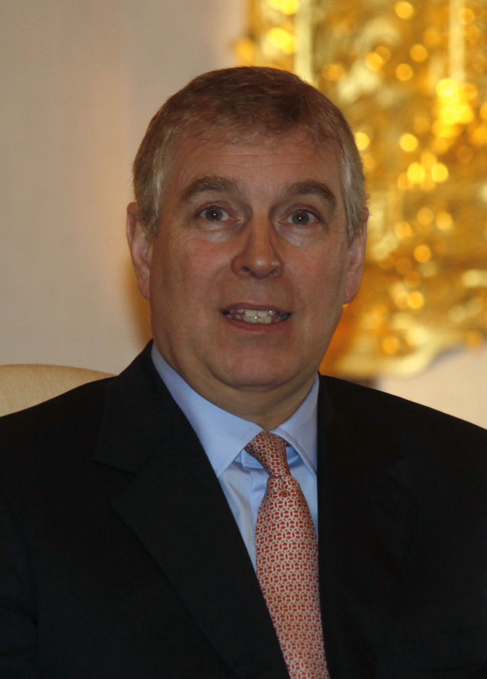 Prince Andrew in India