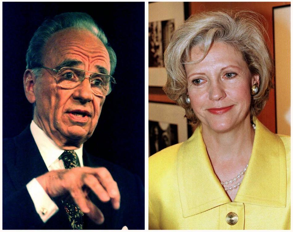 Rupert Murdoch and Anna Murdoch got divorced in 1999