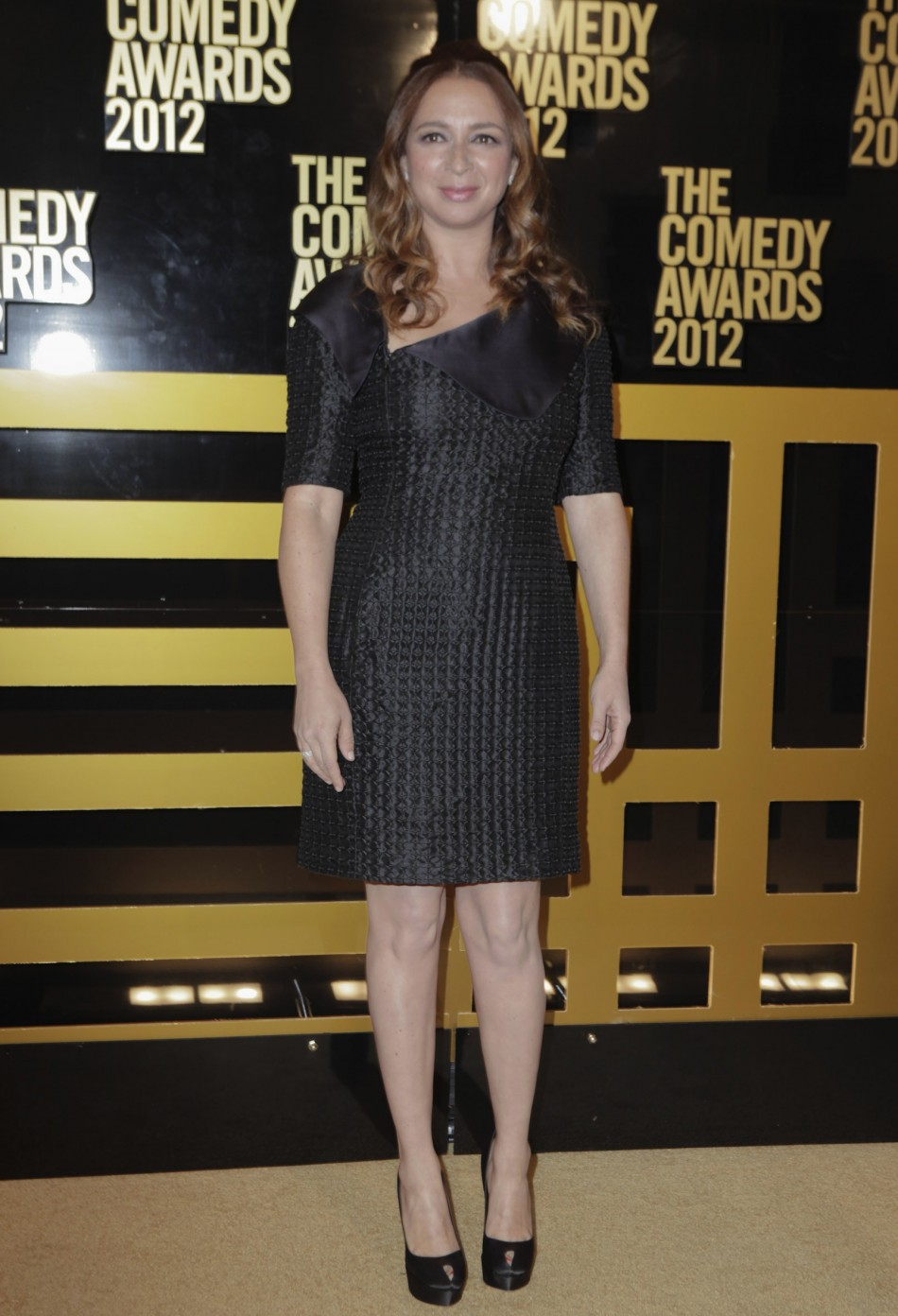 Actress Rudolph arrives at the Comedy Awards 2012 in New York