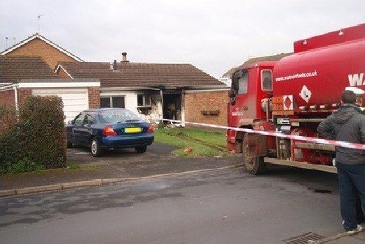 Hugh Billington crashed fuel tanker into family home