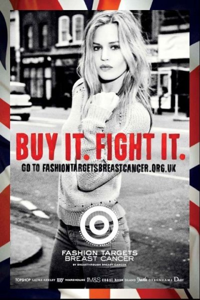 Georgia and Pixie Geldof Unites to Support 2012 Fashion Targets Breast Cancer Campaign