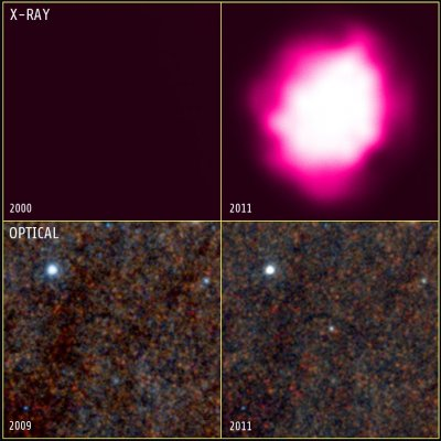 X ray emission In M83