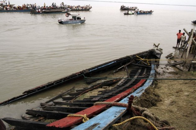 More than 100 drown as overcrowded ferry capsizes and sinks on Brahmaputra river, in northeastern Indian state of Assam