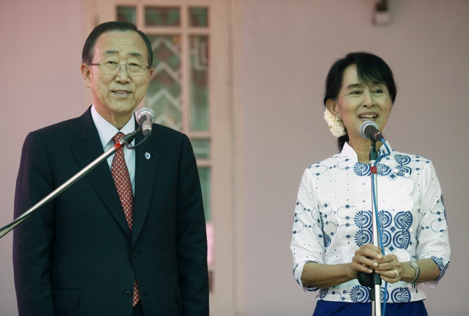 UN Chief's Myanmar visit