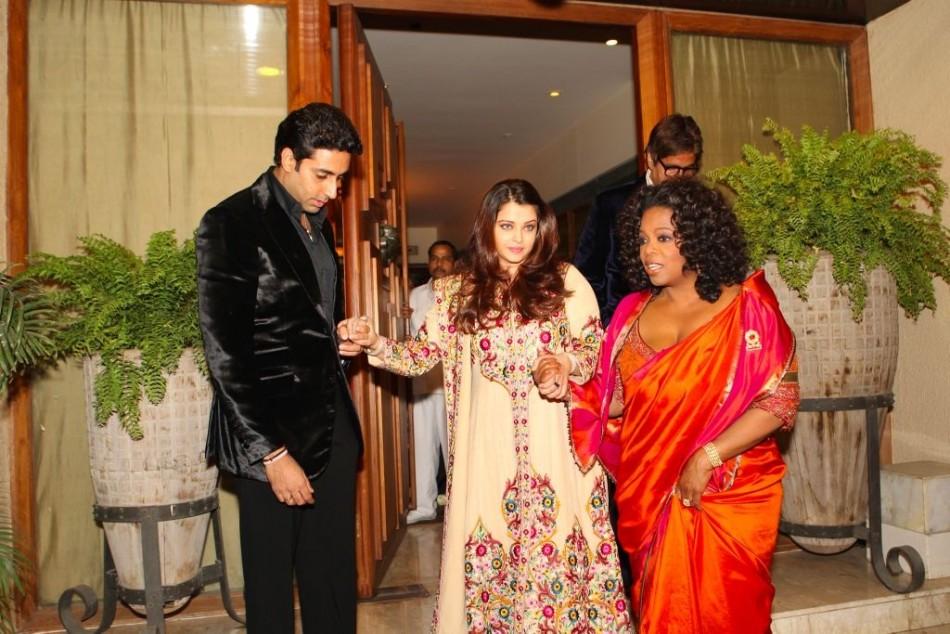 Aishwarya Rai Bachchan with Oprah Winfrey