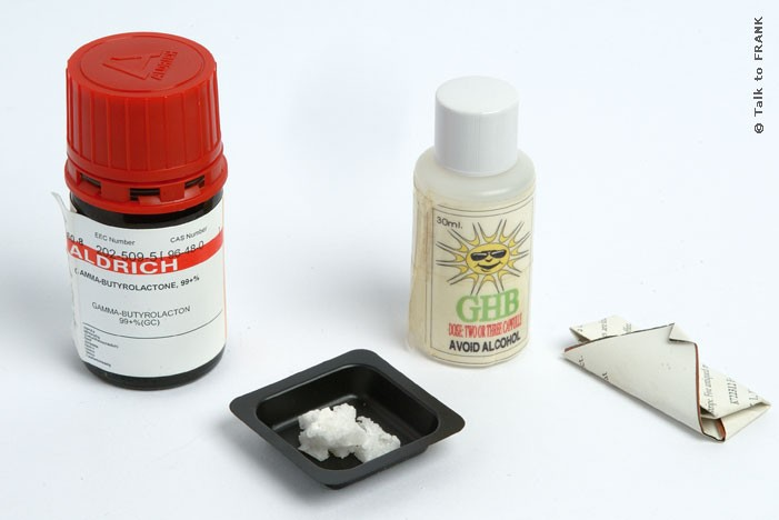 GBL is used as a party drug because it induces feelings of euphoria and hallucinations