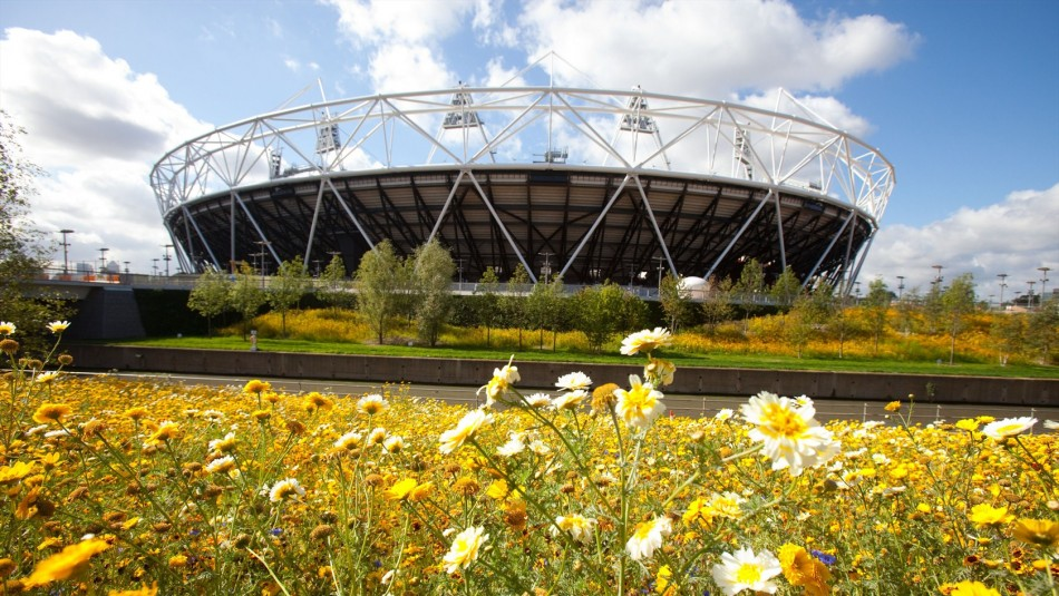 London Olympic 2012 stadium