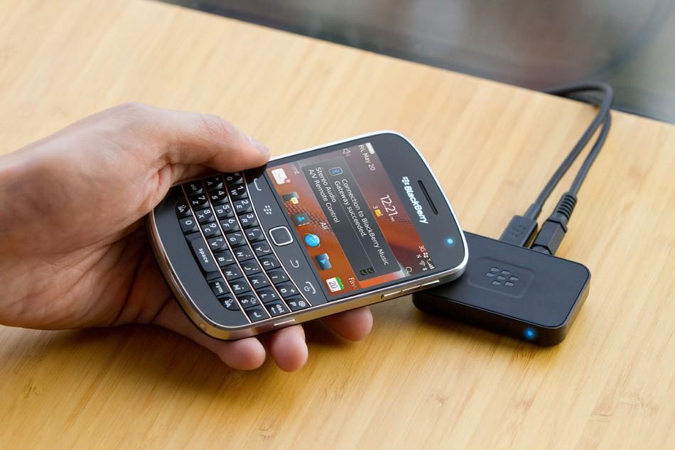 RIM Launches Blackberry Music Gateway – NFC Music Streaming Gadget