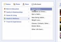 Facebook organ donor social networking initiative