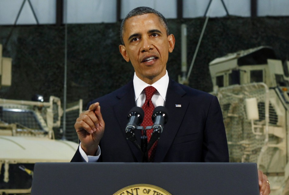 Obama on Osama's death anniversary