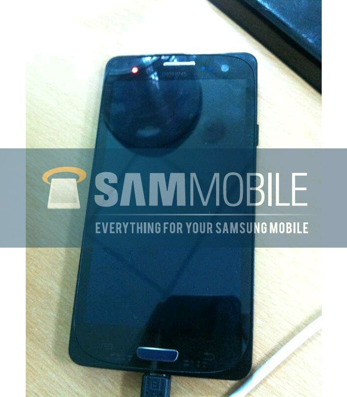 Leaked image of Samsung Galaxy S3