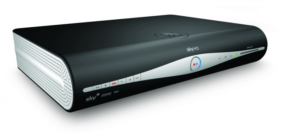 News Corp British Sky Broadcasting Sky HD box