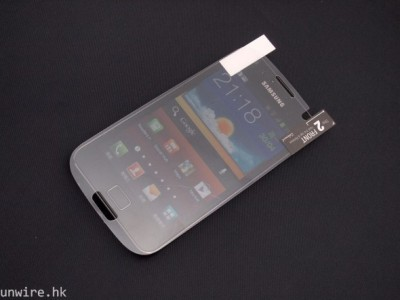 Samsung galaxy S3 Screen Protector Drops Hint at Shape And Size of Smartphone