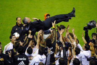 Real Madrid win the Spanish La Liga title