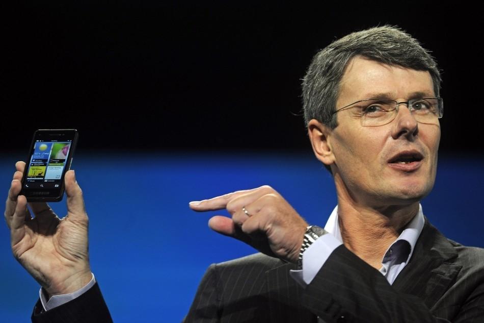 Thorsten Heins RIM CEO Blackberry 10 developer conference 2012