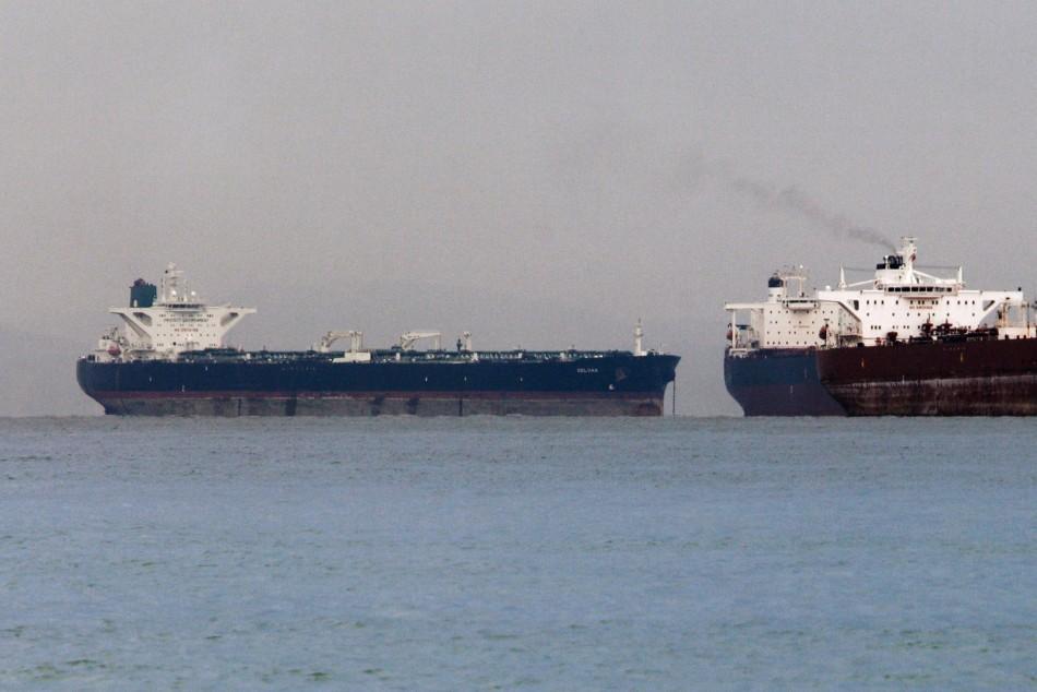 "Iranian crude oil supertanker ""Delvar"""