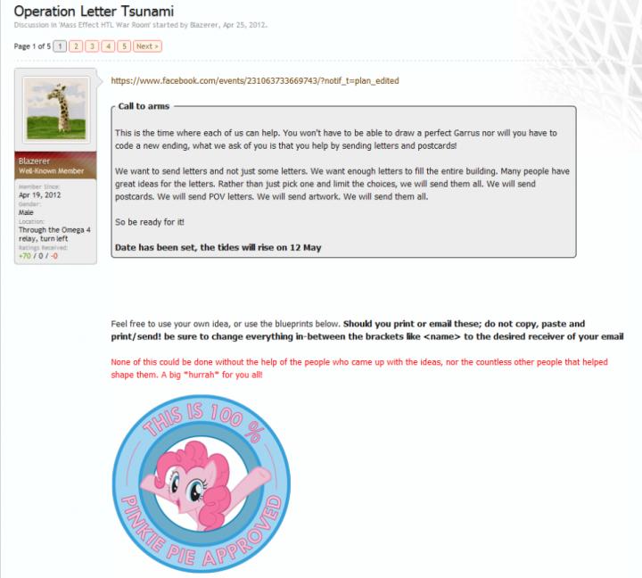 Operation Letter Tsunami