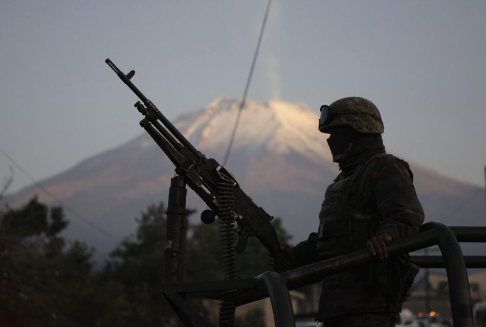 Popocatepetl volcano