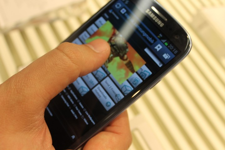 The Samsung Galaxy S3 smartphone UK release date 30 May
