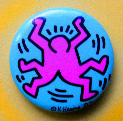 One of Haring's artistic magnet