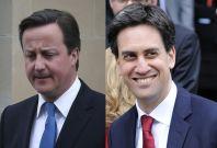 Cameron, Miliband
