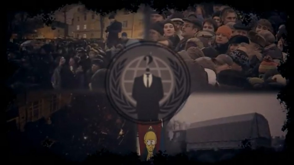 Anonymous announces attack on Russian government sites