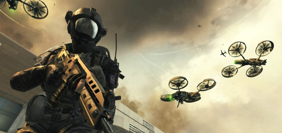 Call of duty black ops 2 screenshot computer operated drone artwork