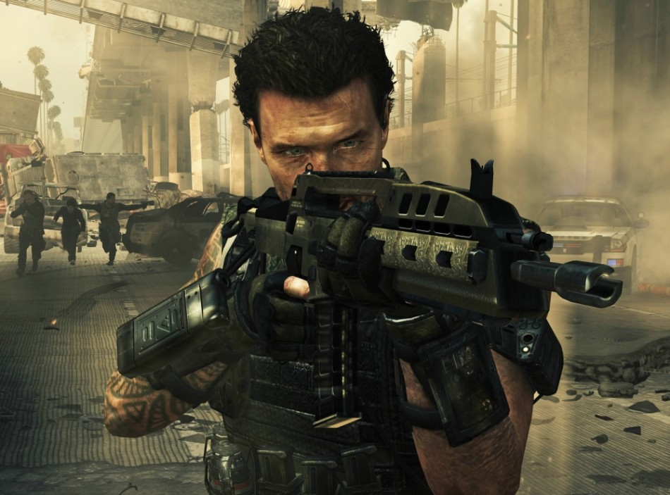 Call of duty black ops 2 screenshot artwork