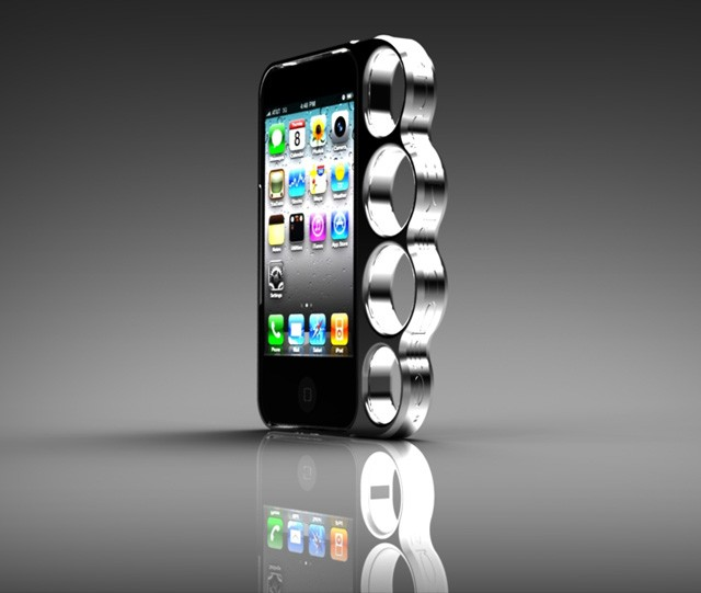 Knuckleduster iPhone case