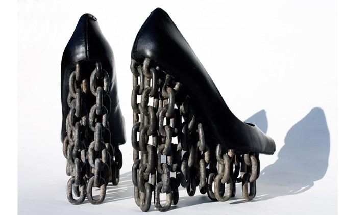 Vinnare av SHOEMANIA skotvling Chain Shoes