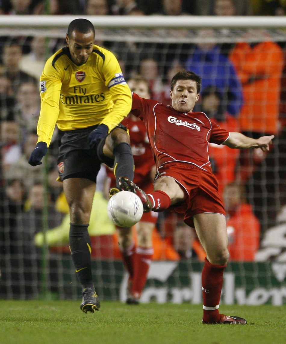 Arsenal v Liverpool FA Cup 2001