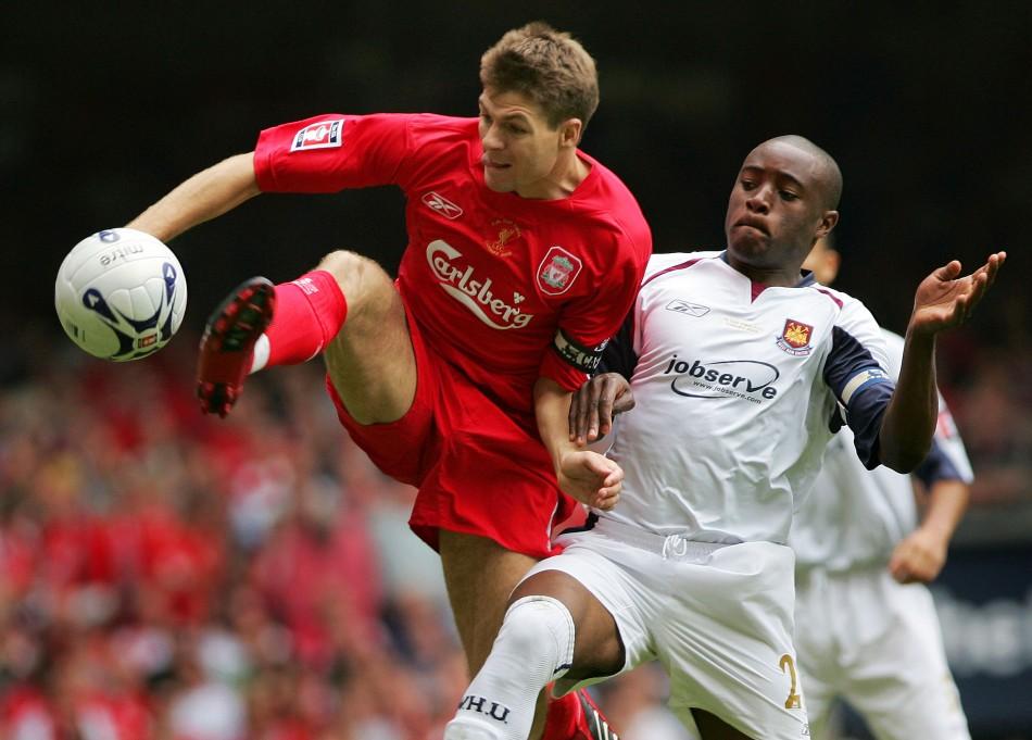 Liverpool v West Ham United FA Cup final 2006