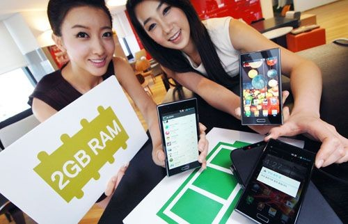 LG Announces Optimus LTE2 With 2GB of RAM And Wireless Charging