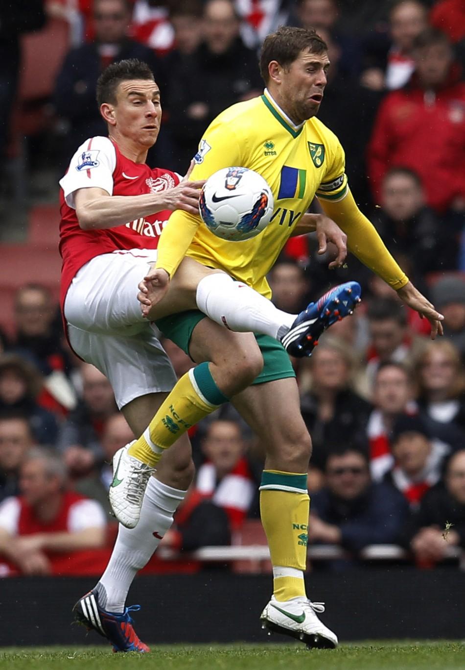 Arsenal v Norwich