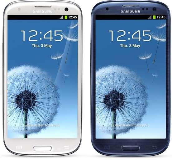 Samsung Galaxy S3 Colours and Borders