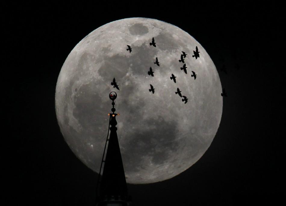 The full moon in Amman