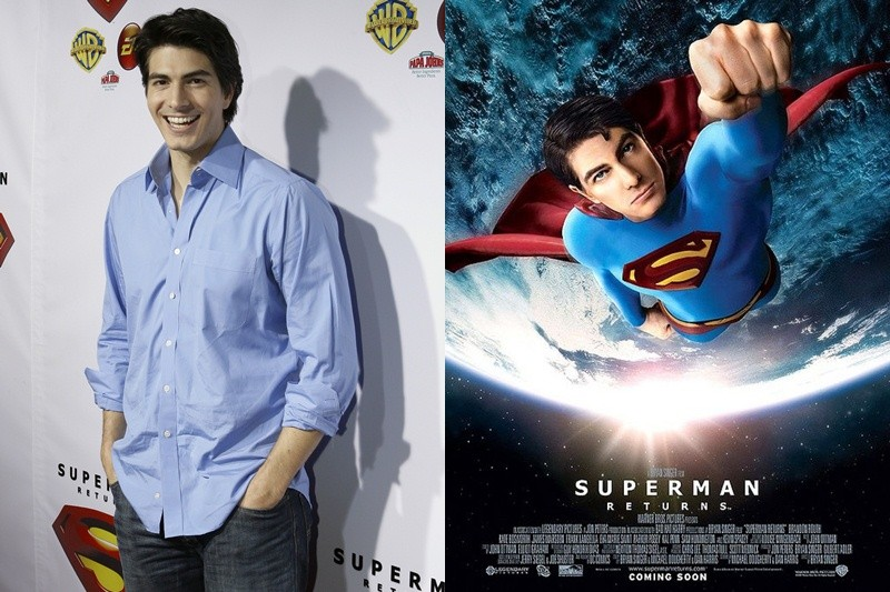 Brandon Routh of Superman Returns