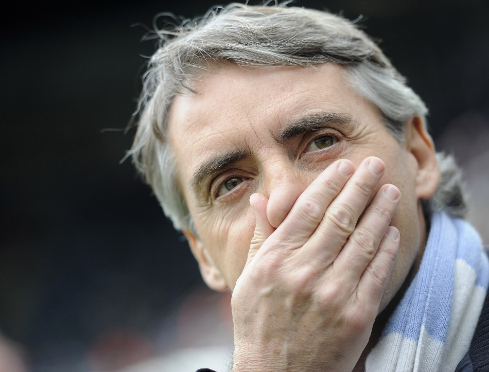 Manchester City manager Roberto