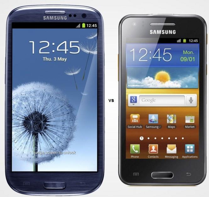 Samsung Galaxy S3 and Galaxy Beam