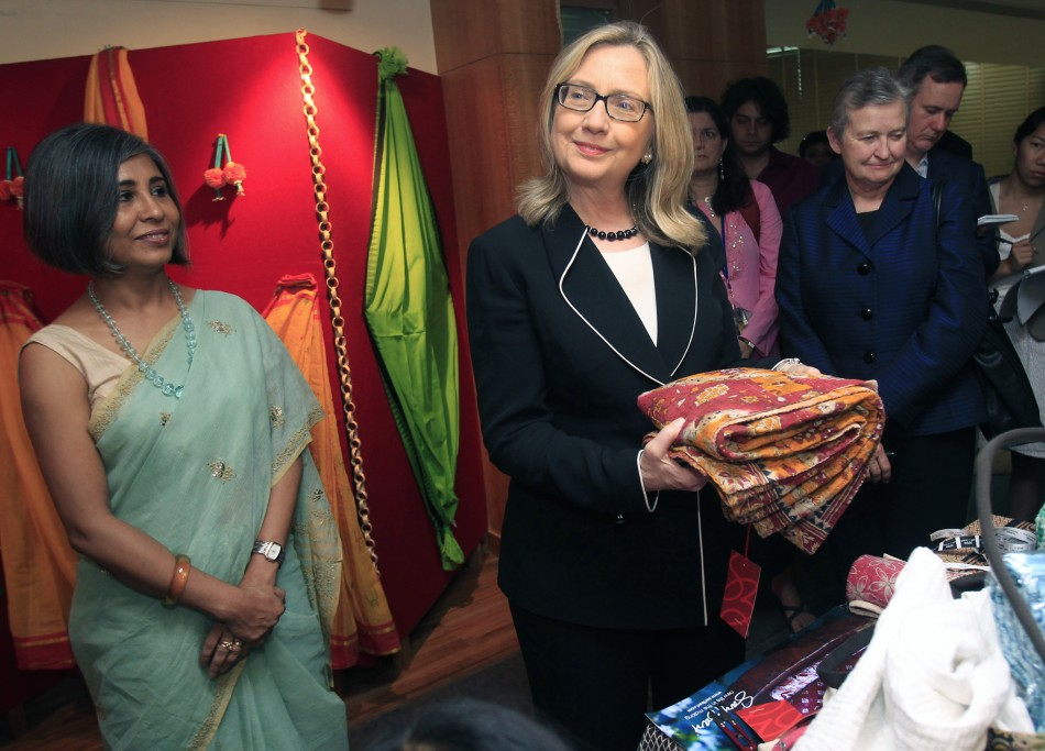 Hillary Clintons India Visit Day 1  2 Updates  Pictures