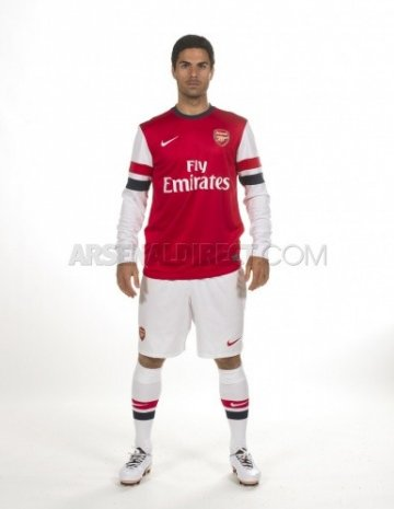 Arsenal 2012-13 home kit