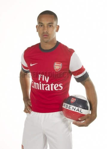 Arsenal 2012-13 home kit