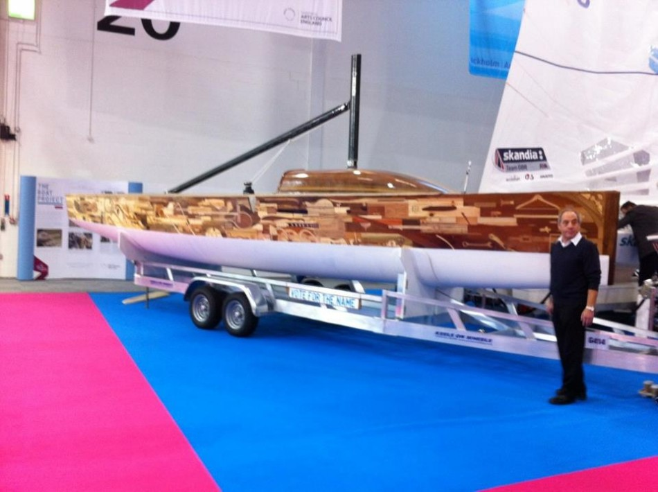 Boat Made from Mary Rose, Jimi Hendrix's Guitar Fragments to Start Its Maiden Voyage