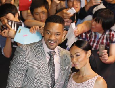 Will Smith and his wife Jada Pinkett Smith