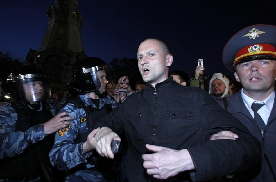Moscow anti-Putin protests