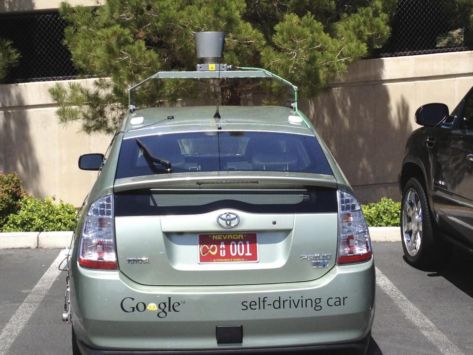 Google Autonomous Car Nevada